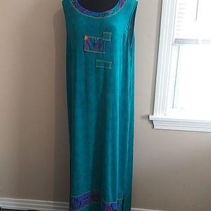 Full length summer dress size 16